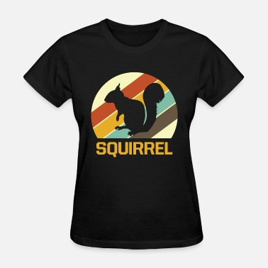 Nut House Squirrel nuts bark tree house - Women's T-Shirt