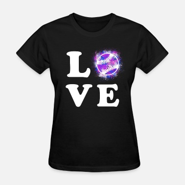 Baseball Love Baseball Love - Women's T-Shirt