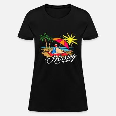 ed63ec5b3 Relaxing Summer / Sommer / Sonne Women's Premium T-Shirt   Spreadshirt