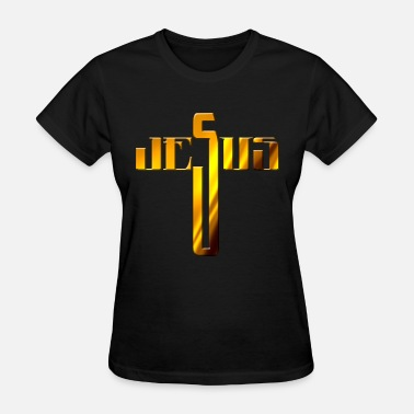 Jerusalem Cross Jesus - Women's T-Shirt