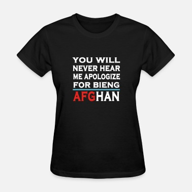 Afg bieng proud of AFG - Women's T-Shirt