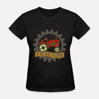 Trecker Tractor Farmer Gift Shirt Farmer Trecker Cool - Women's T-Shirt