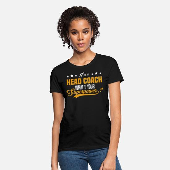 Head T-Shirts - Head Coach - Women's T-Shirt black