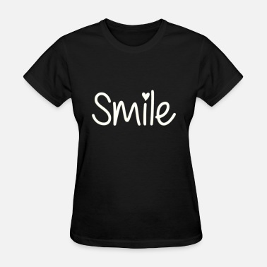 Smiling Heart Smile with heart - Women's T-Shirt