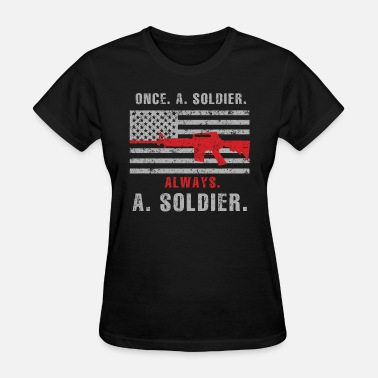 Winter Soldier Soldier - Once a soldier, always a soldier - Women's T-Shirt