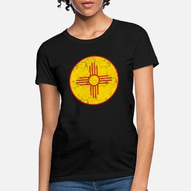 c5a400581 Zia New Mexico State Flag Pride - Women's T-Shirt