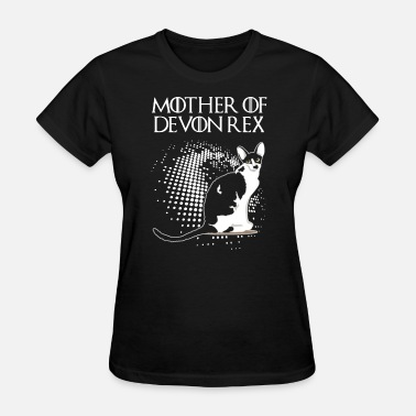 Devon DEVON REX CAT SHIRT - Women's T-Shirt