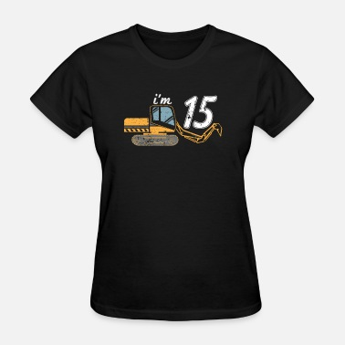 Excavator Kids Kid Excavator Shirt 15 Kids Excavating Shirt - Women's T-Shirt