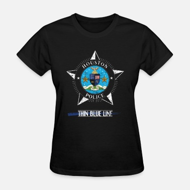 Houston Police Police T Shirt Houston Texas Police Shirt Police Gifts - Women's T-Shirt