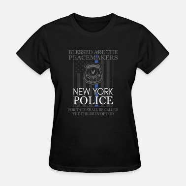 Police New New York Police Support With New York Police Badge Police T - Women's T-Shirt