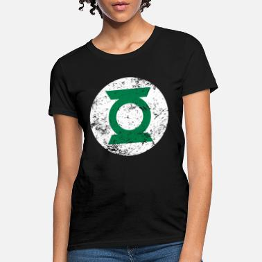 Justice League Green Lantern Logo Vintage - Women's T-Shirt