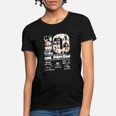 One 10 Years of One Direction 2010 2020 signatures tee - Women's T-Shirt