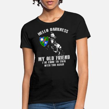 hello darkness my old friend i have come to talk w - Women's T-Shirt