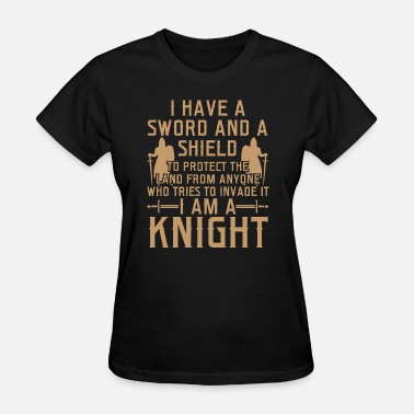 Middle Ages Medieval Knight Medieval festival Market Gift - Women's T-Shirt