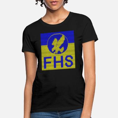 FHS Ugly Christmas Sweater Design - Women's T-Shirt