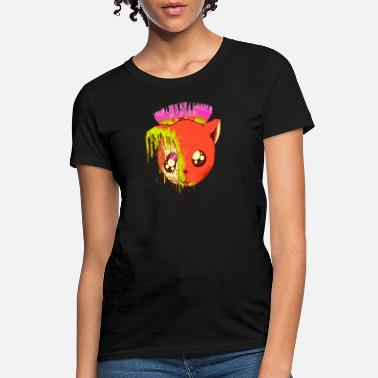 Full Art Meltycat Full Color Cool Art - Women's T-Shirt