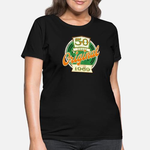 50th Birthday Gift Ideas Shirt For Born In 1969 Womens T