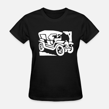 Retro Old Car Old Car - Women's T-Shirt