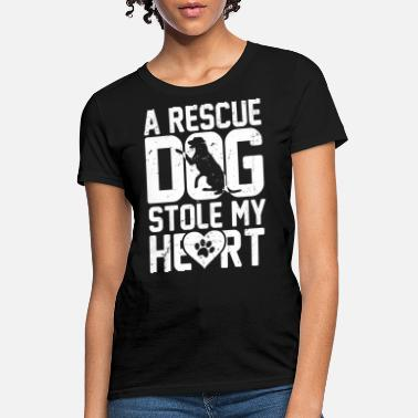 Rescue Rescue dog - It stole my heart awesome t-shirt - Women's T-Shirt