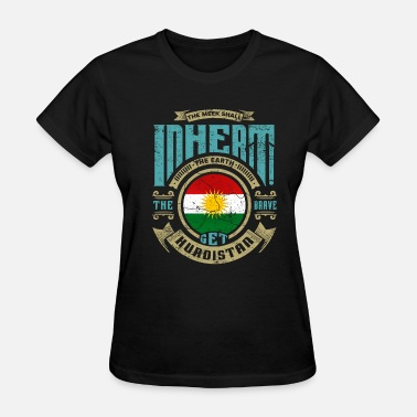 Autonomy Kurdistan home gift idea - Women's T-Shirt