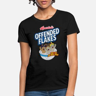Offended America s Offended Flakes They Are Obnoxious shirt - Women's T-Shirt