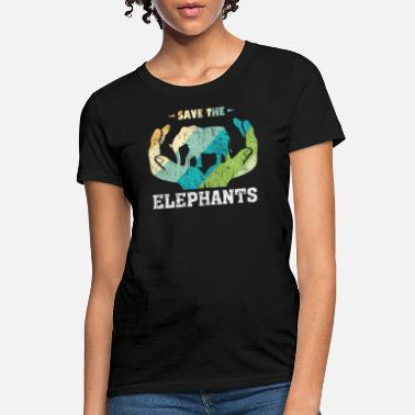Animal Elephants Animal Welfare Animal Rights Gift - Women's T-Shirt