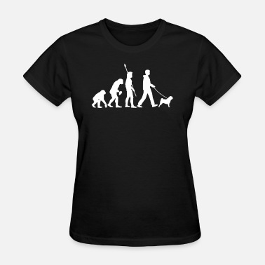 Pug Evolution Pug Funny Evolution Dog Owner Gift - Women's T-Shirt