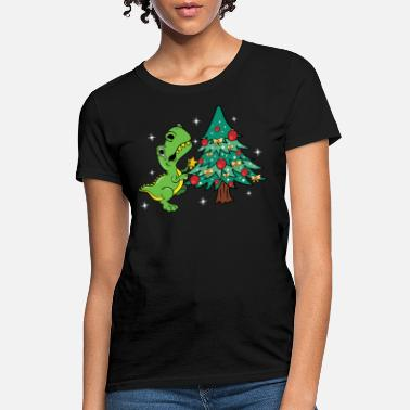 ef6b48a30 Shop Ugly T-rex Christmas T-Shirts online | Spreadshirt