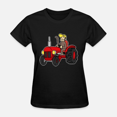 Trecker Tractor Farmer Trecker Cool Farmer Shirt Gift - Women's T-Shirt