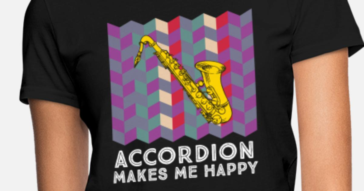 cf7e4bc6 Saxophone Player Saxophonist Saxophone Art Gift Women's T-Shirt |  Spreadshirt