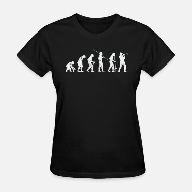 One Man Band Evolution Trumpet - Women's T-Shirt
