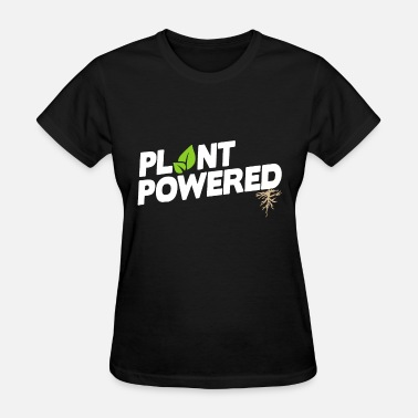 Vegan Sport plant powered not food vegan - Women's T-Shirt