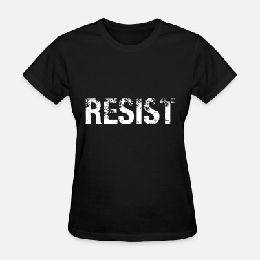 Womens Resistance Resist flag mexico gift for mens and womens resist - Women's T-Shirt