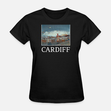 Cardiff City Cardiff Holidays Vacation City Souvenir - Women's T-Shirt