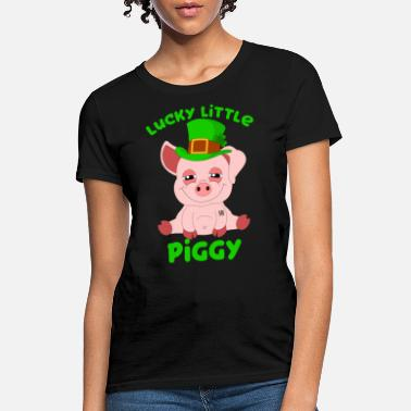 999be895 St Patricks Day Year Of The Pig Shenanigan Piggy - Women's T. Women's T- Shirt