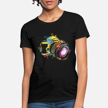 Navy Photographer awesome photograph camera picture art photograph - Women's T-Shirt