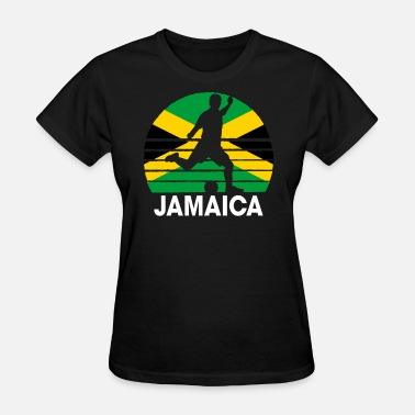 Jamaica Football Jamaica Soccer Football JAM - Women's T-Shirt