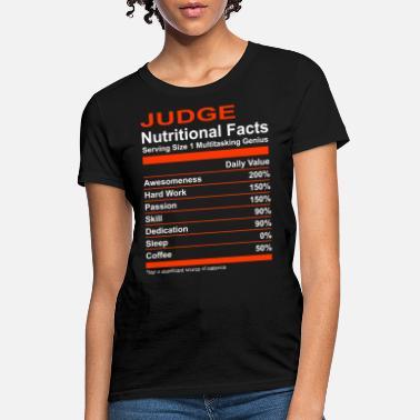 e399934f Nutritional Facts Judge Tee - Women's T-Shirt