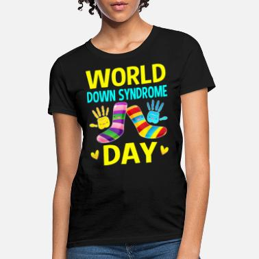 Men World Down Syndrome Day Shirt Gifts Men Women Kids - Women's T-Shirt