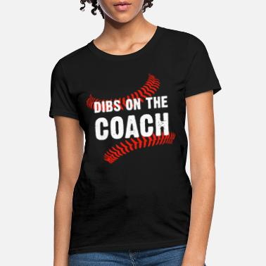 Nfl Coach bibs on the coach happy olimpic men human game fun - Women's T-Shirt