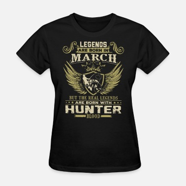 legends are born march but the real legends are bo - Women's T-Shirt