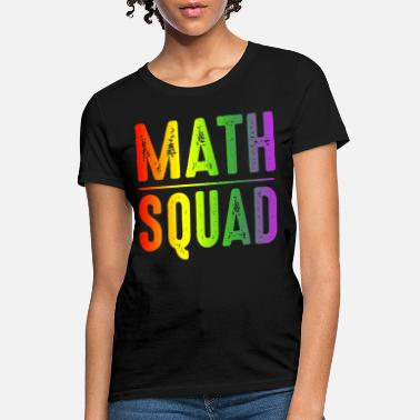 Suicide Sheep Math squad first day go to school funny happy math - Women's T-Shirt