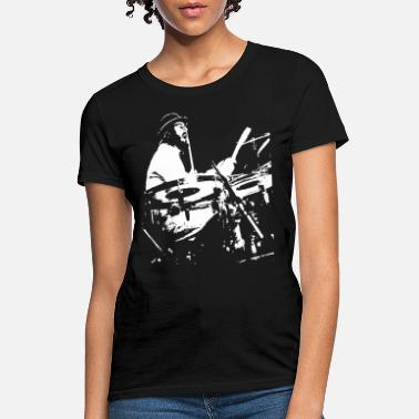 Ludwig John Bonham Led Zeppelin drummer drum kit Ludwig d - Women's T-Shirt