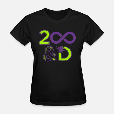 2-d 2 Infinity And B On D - Women's T-Shirt