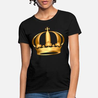 Gold King Crown gold-crown-king - Women's T-Shirt