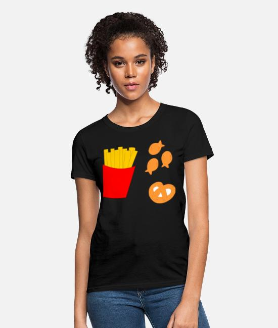 Lover T-Shirts - snack lover - Women's T-Shirt black
