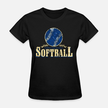 Jasper Funny Jasper High School Softball - Women's T-Shirt