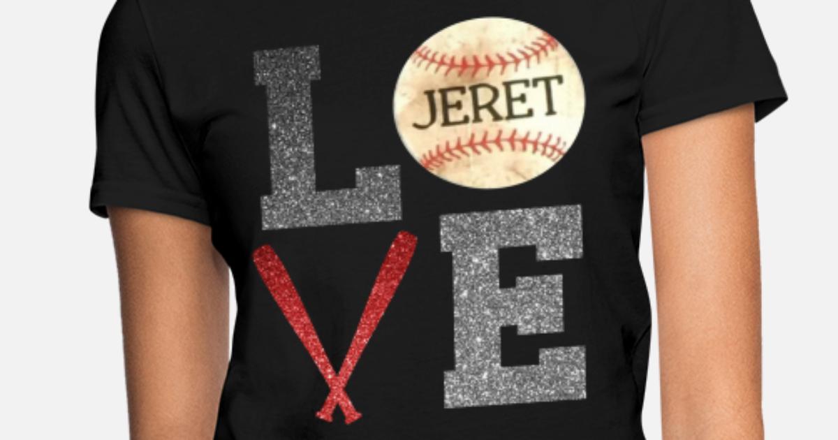 ac3360b9 LOVE Vintage BASEBALL Raglan Baseball Mom Baseball Women's T-Shirt ...