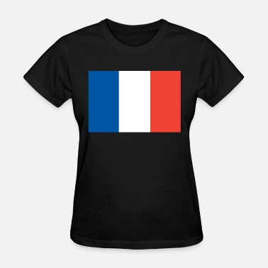France Designs France flag, France flag, France - Women's T-Shirt