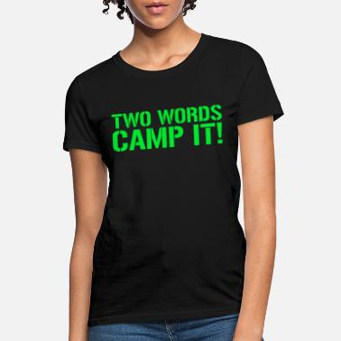 Two Words - Women's T-Shirt